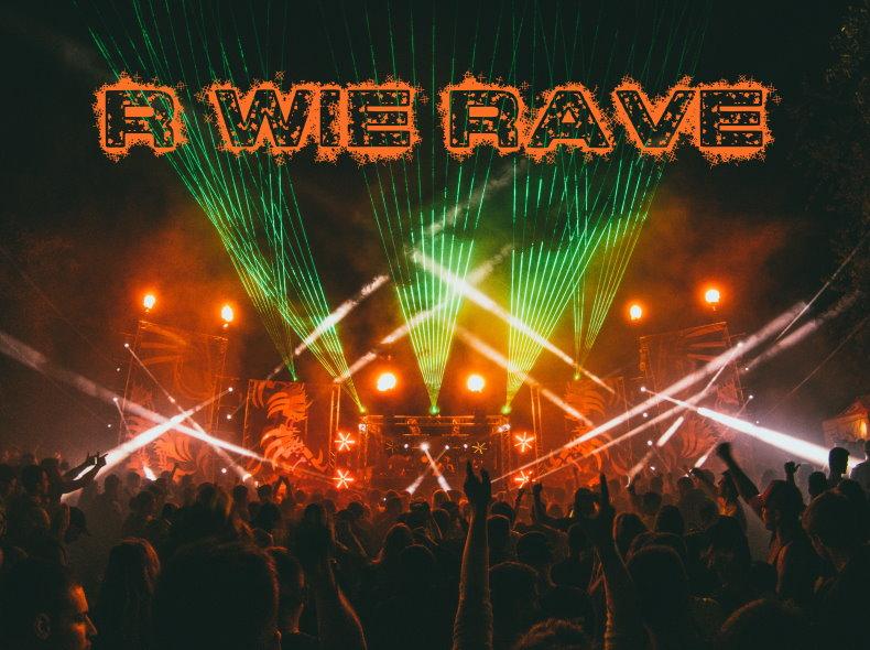 R wie Rave, Blog Challenge