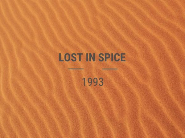 Lost In Spice, Blog Challenge