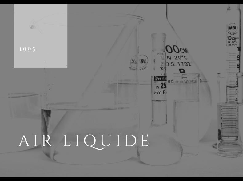Air Liquide, Blog Challenge