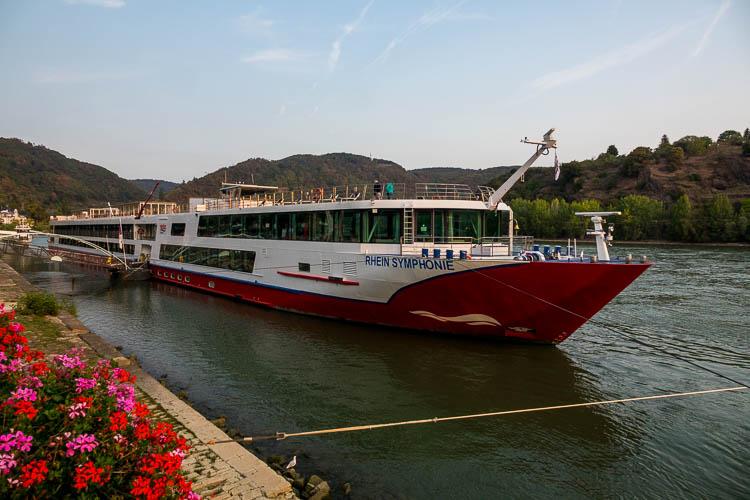 nicko Cruises, Rhein Symphonie, Schiff