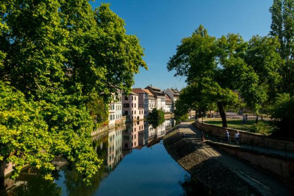 Straßburg, Fluss, Häuser