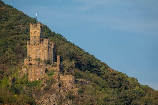 Schloss, Burg, Rhein