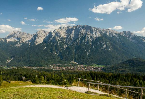 Mittenwald, Alpen, Karwendel, Holzhütte