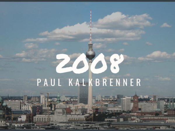 Paul Kalkbrenner, Blog Challenge