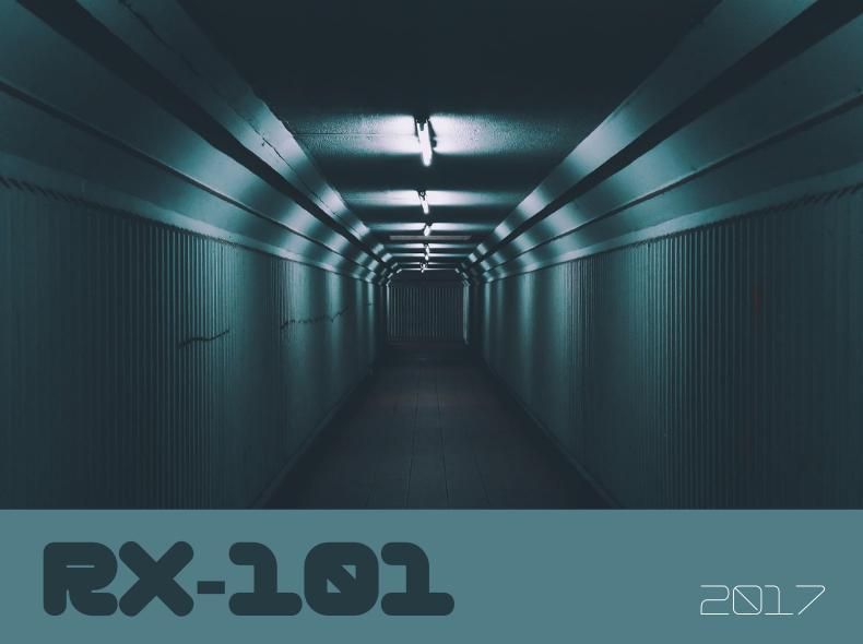 RX-101, Blog Challenge