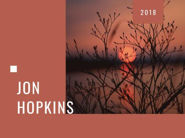 Jon Hopkins, Blog Challenge