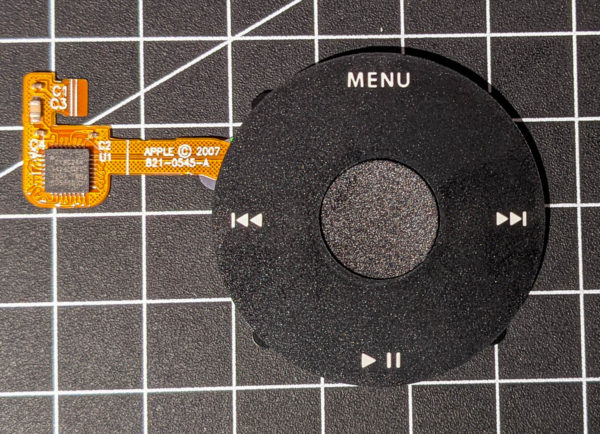 Klickrad, schwarz, iPod classic