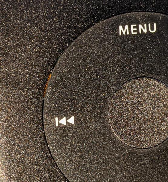 iPod classic schwarz