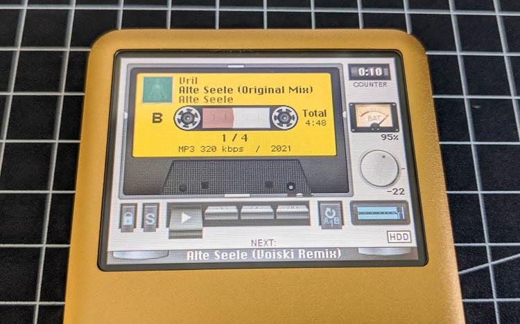 iPod classic, Rockbox, Gold