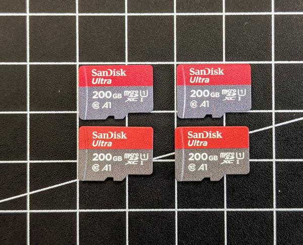 Micro-SD-Karten, Sandisk